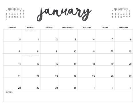 printable planner calendar 2018 printable calendar 2018 yspages com