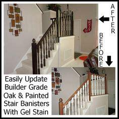 builders grade builder grade updates on wainscoting hallway craftsman window trim and staining