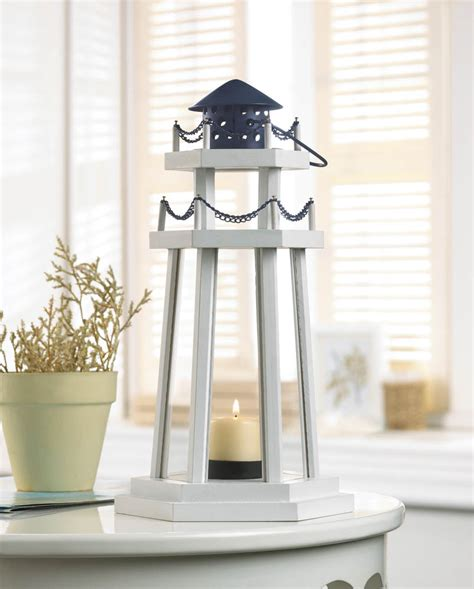 decorative lighthouses for in home use lighthouse point wooden lantern wholesale at koehler home