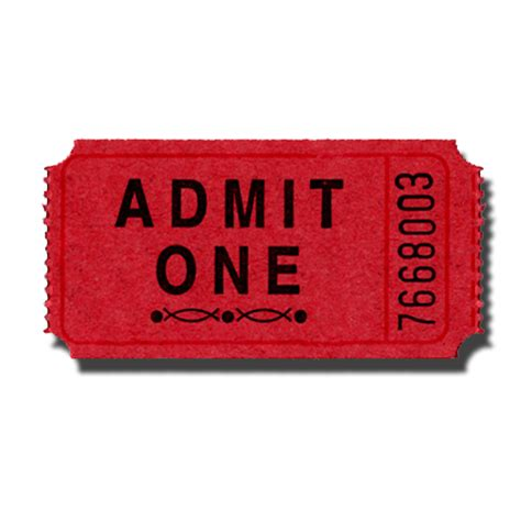 admit one ticket clip art cliparts co