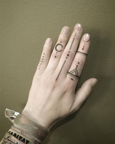 40 awesome finger tattoos for and tattooblend