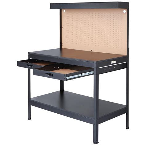 work bench vc olympia tools 82 802 multi purpose workbench with light