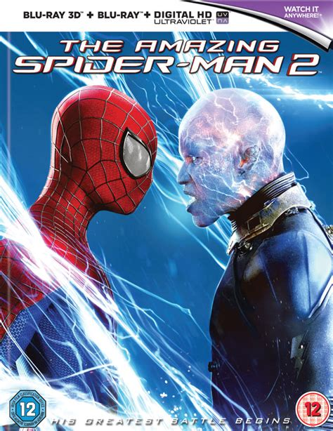film blu ray 3d 4k the amazing spider man 2 3d mastered in 4k edition