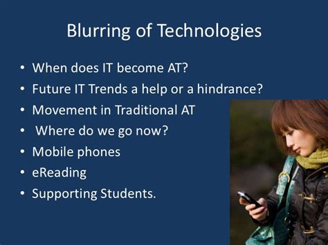Student Persepctives On Tech Mba by Student Perspectives On Assistive Technology
