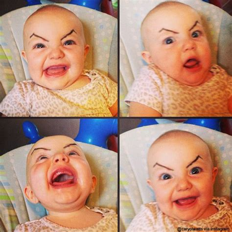 All About The Brows Baby 2 13 babies with on eyebrows that are plotting to take