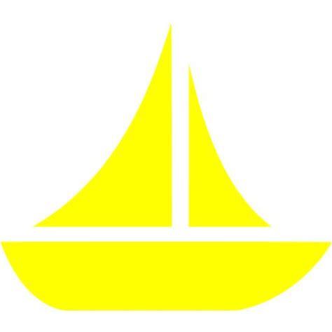 boat icon yellow yellow boat 10 icon free yellow boat icons