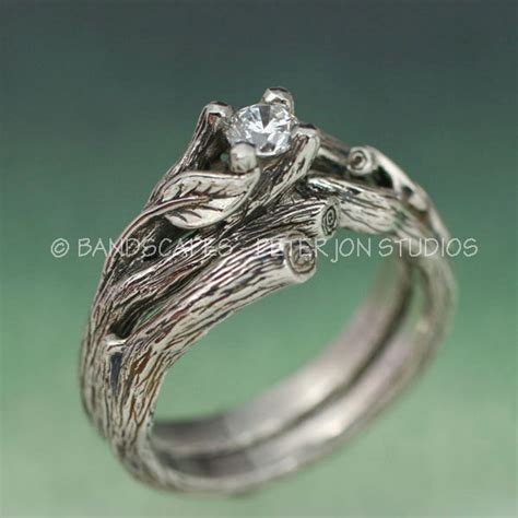 Wedding Ring Nature by Nature Engagement Ring Www Pixshark Images
