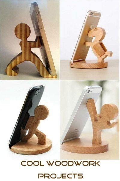 Wood Mobile Holder 20 cool woodworking projects to fall in with cut the wood