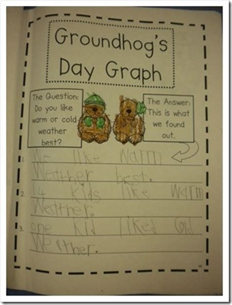 groundhog day kindergarten groundhog day activities grade