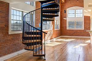 superior Apartment Design For Small Spaces #9: Steel-Sprial-Staircase-small.jpg