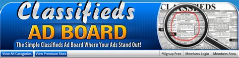 classifiedsadboard com gt post ads for free simple easy