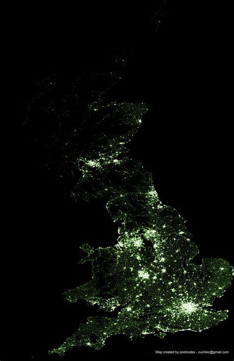 uk lights ordnance survey visualising geodata bringing maps to