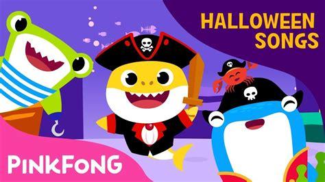 baby shark halloween pirate baby shark halloween songs pinkfong songs fo