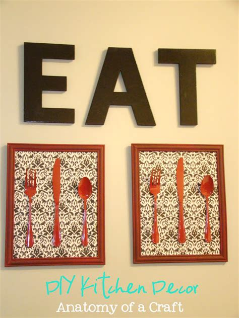 kitchen wall decor ideas diy anatomy of a craft tutorial tuesday 3 diy kitchen decor