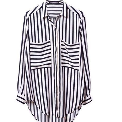 Zara Basic Shirt zara basic striped shirt with pocket s fashion