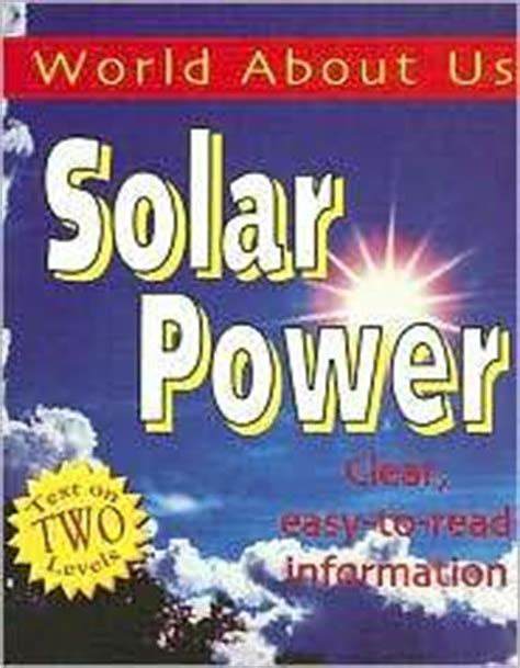 solar the polar books energy and the polar environment bookshelf