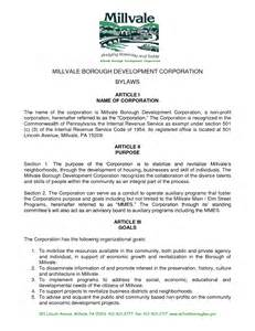 corporate bylaw template best photos of exle of corporate bylaws corporate