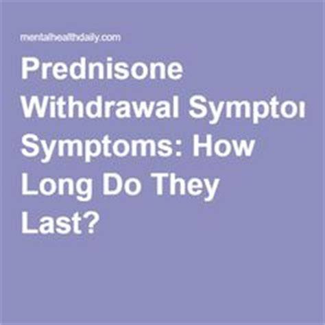 How To Detox From Prednisone by 1000 Images About Prednisone On Prednisone