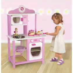 childrens pink wooden pretend play kitchen play