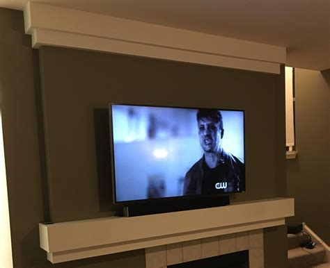 TV Installation on Wall   Drywall Repair, Painting