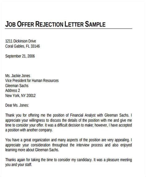 Formal Product Offer Letter offer letter format pdf sle 28 images offer letter sle