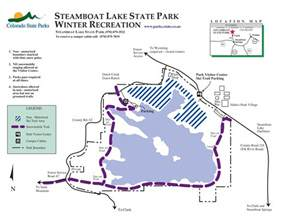 steamboat colorado trail map steamboat lake state park outthere colorado