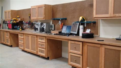 shop benches and cabinets posted image workbench pinterest