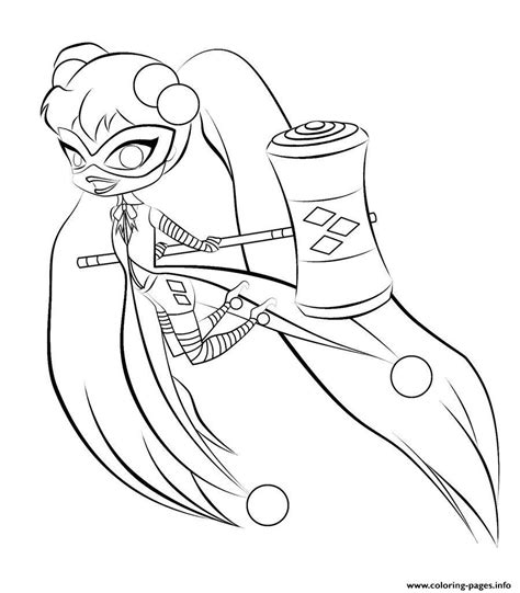 harley quinn coloring pages online print harley quinn kids online harley quinn coloring pages