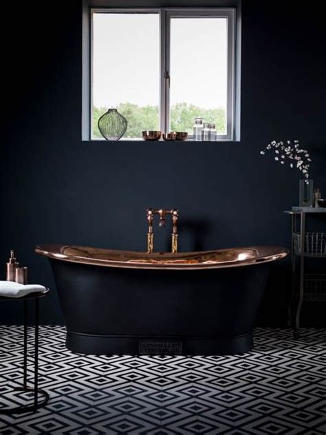 black tile bathroom ideas 25 best ideas about black bathtub on outside