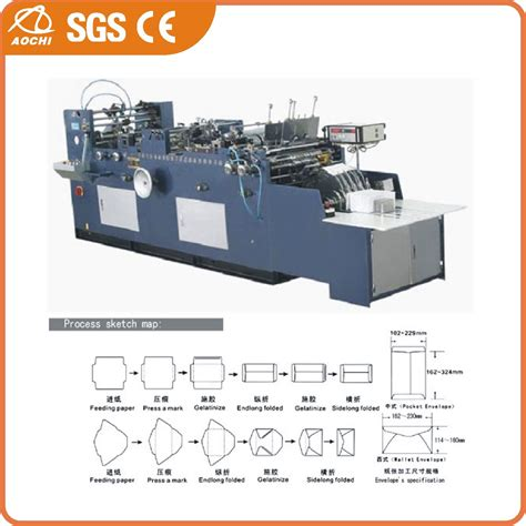 Automatic Paper Bag Machine - china automatic a4 envelope and paper bag