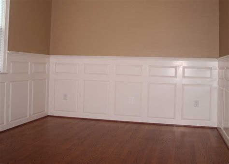 Adding Wainscoting by Adding Wainscoting To Your Room Remodel
