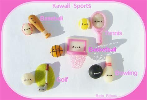 Bijoux Kawaii by Kawaii Sports Earrings By Bojo Bijoux On Deviantart