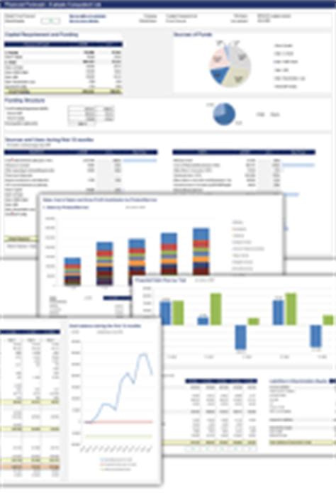 Free Financial Statement Templates Spreadsheet123 Condensed Business Plan Template