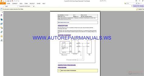 auto repair manuals toyota fr s 2013 scion repair manual