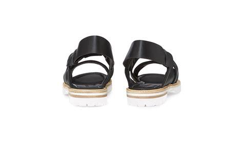 Sandal Flat Hk 04 tulsi knotted flat sandal black whistles