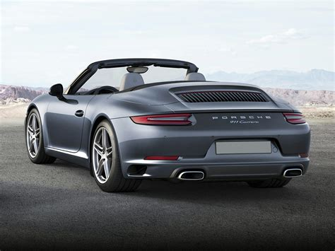 new porsche 911 convertible new 2017 porsche 911 price photos reviews safety