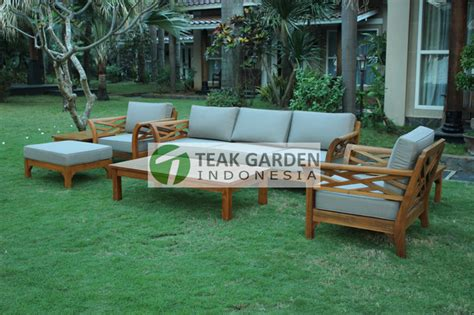 teak patio furniture from indonesia eclectic sectional