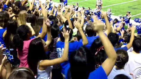 cy creek student section cy creek drumline student section 2012 4bars youtube