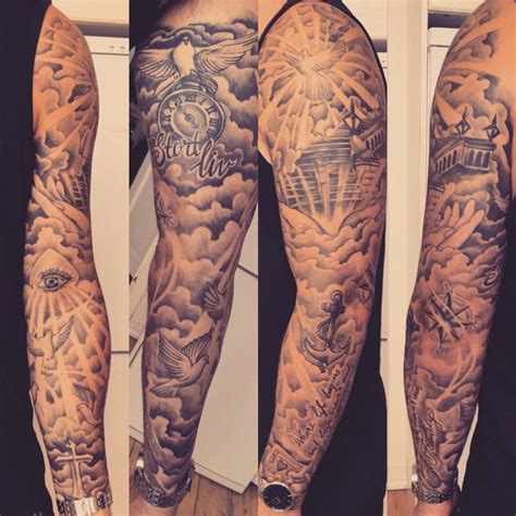 tattoo sleeve family theme m 225 s de 25 ideas incre 237 bles sobre tatuajes de nubes en
