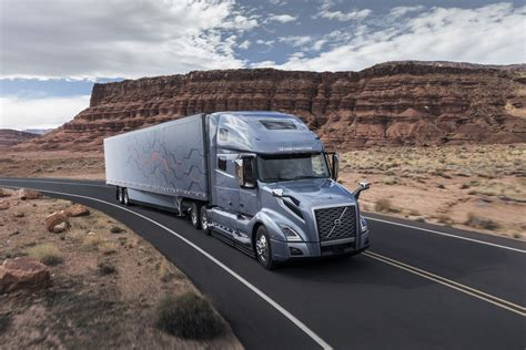 volvo heavy truck volvo s new semi trucks now have more autonomous features