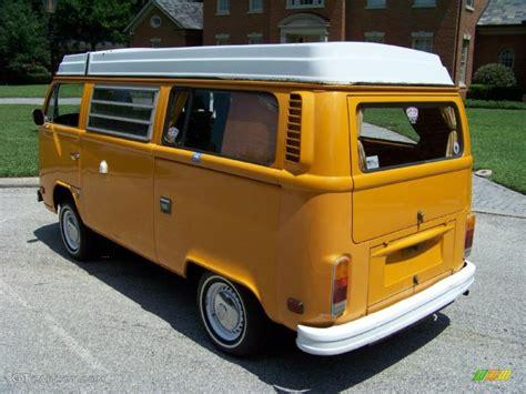 new volkswagen bus yellow 1977 chrome yellow volkswagen bus t2 cer van 32391803