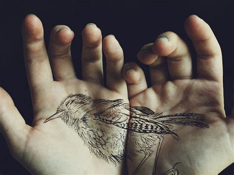 tattoo pinterest bird bird hand tattoo pictures photos and images for facebook