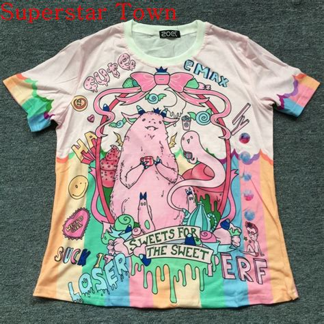 Tshirt Harajuku aliexpress buy 2016 japan t shirt unicorn