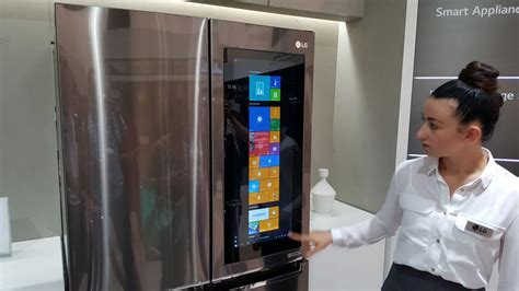 touch l on in on with lg s cool smart refrigerator