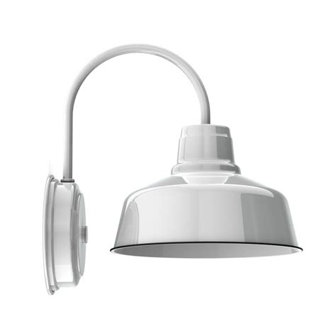 White Wall Sconce 10 Quot Esso Wall Sconce 250 White Garage Inspiration