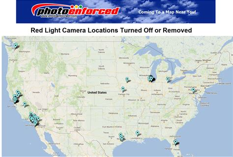 red light camera locations red light camera map my blog