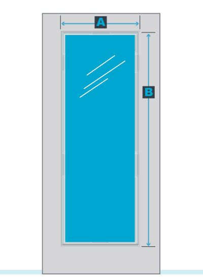 Add On Blinds For Raised Or Flush Frame Door Glass - odl add on blinds measurement guide zabitat