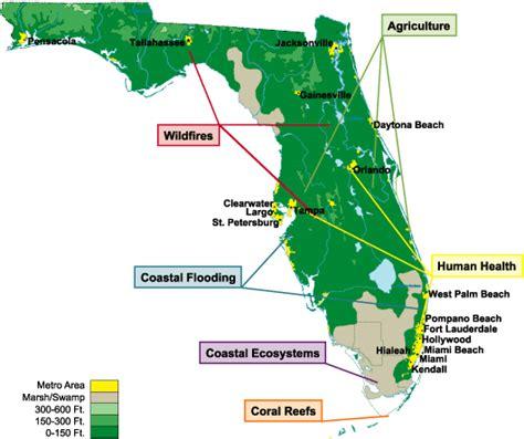 florida climate change map flamap