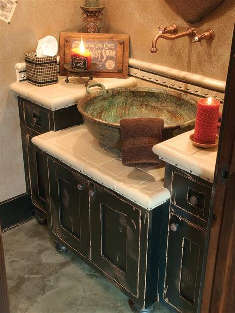 Bathroom Vanity With Copper Sink Rooms And Spaces Design Ideas Photos Of Kitchen Bath And Living Space Designs Hgtv