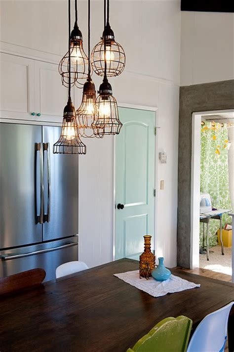 Kitchen Hanging Lights Over Table | 57 original kitchen hanging lights ideas digsdigs